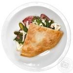 Сендвич-лаваш с салями полукопченой 155г