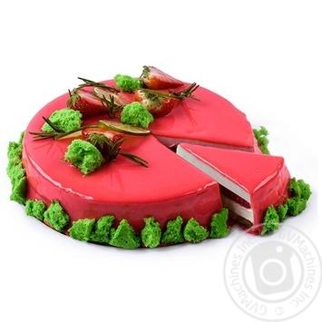 Торт Лайм-Клубника - купить, цены на Novus - фото 1