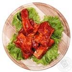 Ребрышки свинные BBQ мед-горчица охлажденные