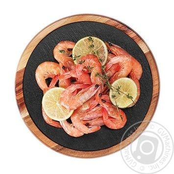 Chilled Marinated With Lime And Thyme Shrimps