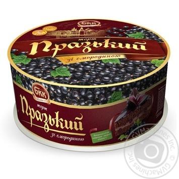 Торт БКК Пражский со смородиной 850г - купить, цены на Novus - фото 1