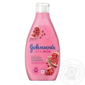 Гель для душа JOHNSON'S Body Care Преображающий с ароматом граната 250мл - купить, цены на Novus - фото 1