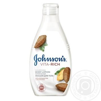 Лосьон для тела Johnson's Vita Rich Питательный 250мл
