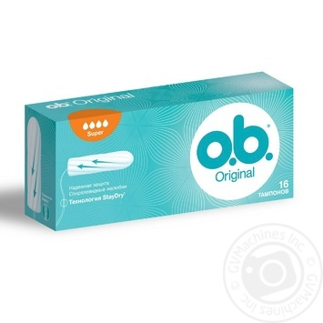 Tampons Ob for women normal plus 16pcs