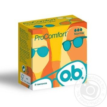 Tampons Ob Procomfort for women normal plus 8pcs