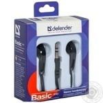 Навушники Defender Basic 610 Black