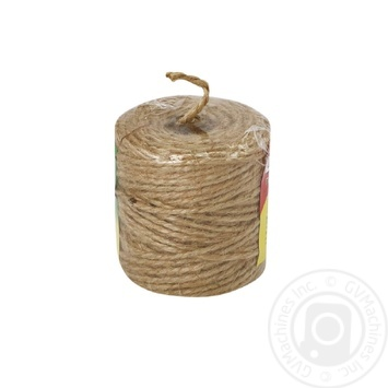 Шпагат пакувальний Радосвіт Пан канат бобіна 60м - купити, ціни на Ашан - фото 3
