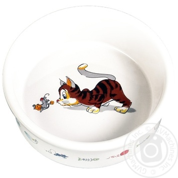 Миска для котів Trixie керамічна 11,5см0,2л