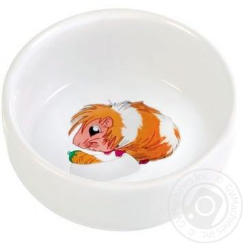 Миска Trixie керамічна для морської свинки 11см 0,3л