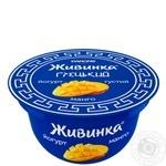 Йогурт Danone Живинка Грецький Манго 135г - купити, ціни на Novus - фото 1