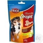 Вітаміни для собак Дропс бекон 200г