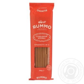 Rummo Le Biologiche Intergrali Pasta Spaghetti №3 500g - buy, prices for CityMarket - photo 1