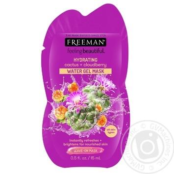 Маска Freeman Feeling Beautiful водяная гелевая кактус и морошка 15мл