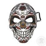 Карнавальна маска Череп, 18*26 см
