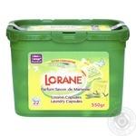 Гель Lorane Марсельское мыло для стирки в капсулах 22шт