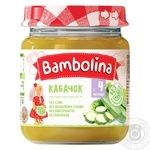 Puree Bambolina squash for children from 4 months 100g