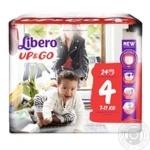 Підгузники Libero Up&Go Super Hero 4 7-11кг 24шт х4