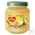Puree Milupa plum for children from 6 months 125g