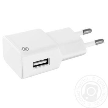 Зарядний пристрій мережевий Piko TC-101 1USB1A білий - купить, цены на Novus - фото 1