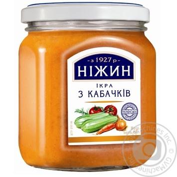 Икра Нежин из кабачков 450г - купить, цены на Novus - фото 1