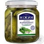 Огірки Ніжин По-ніжинськи мариновані 450мл - купити, ціни на Novus - фото 1