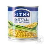 Кукуруза Нежин нежная вакуумированная 340г - купить, цены на Novus - фото 1