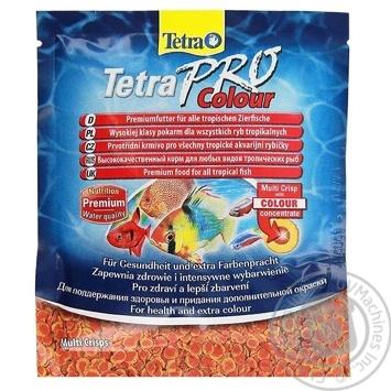 Корм Tetra Pro colour д/дикор. риб 12г х5 - купити, ціни на МегаМаркет - фото 1