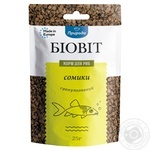Dry food for aquarium fish Priroda in granules Biovit Catfish 25g