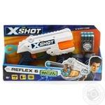 Бластер скорострільний Zuru EXCEL Reflex X-Shot 3 банки, 8 патронов