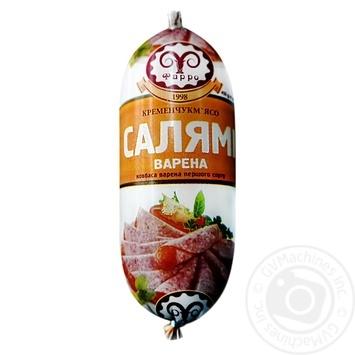 Farro salami sausage boiled first grade 450g - buy, prices for Furshet - image 1
