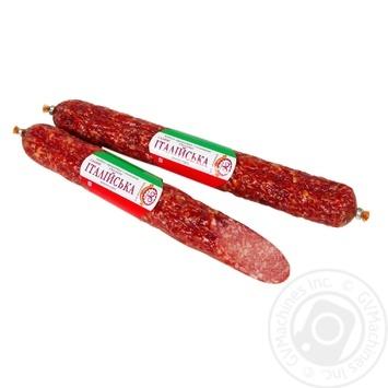 Farro Salami Sausage Italian top-smoked smoked