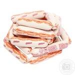 Сосиски Глобино с молоком первый сорт весовые - купить, цены на Фуршет - фото 1
