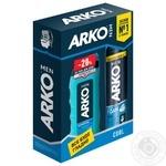 Набір Arko Піна д/гоління Cool 200мл+гель 260мл - купити, ціни на МегаМаркет - фото 1
