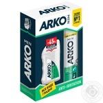 Подарочный набор Arko Гель для бритья 200мл+Бальзам после бритья 150мл