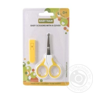 Ножницы детские Baby Team с чехлом