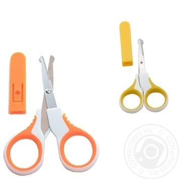 Ножиці дитячі Baby Team з чохлом - купити, ціни на Novus - фото 2