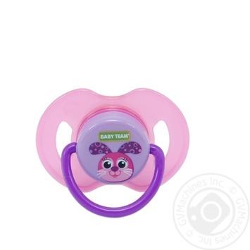 Baby Team Pacifier Latex Orthodontic 3200 - buy, prices for Furshet - image 2
