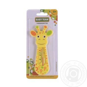 Baby team thermometer Giraffe for water - buy, prices for Furshet - image 1