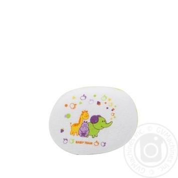 Детская мочалка-губка Baby Team - купить, цены на Novus - фото 3