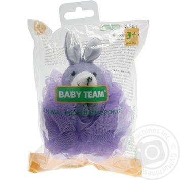 Детская мочалка-зверек Baby Team - купить, цены на Novus - фото 2