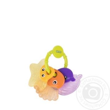 Прорізувач-брязкальце Baby Team 4034 - купить, цены на Novus - фото 3