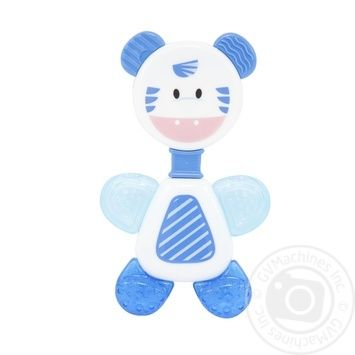 Игрушка-погремушка Baby Team с прорезывателем Кольцо - купить, цены на Novus - фото 2