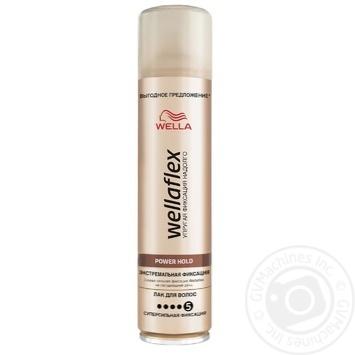 Лак для волосся WELLAFLEX екстремальної фіксації 400мл