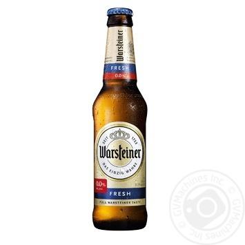 Пиво Warsteiner Fresh безалкогольное 0,33л - купить, цены на Метро - фото 1
