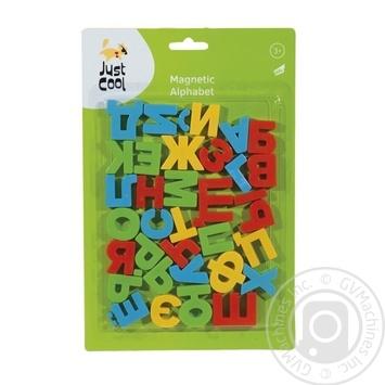 Игрушка Just Cool магнитные буквы