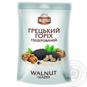 Цукерки MagNut Грецький горіх глазурований 100г
