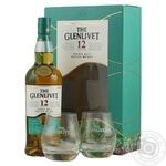 The Glenlivet Founder's Reserve Whiskey 12y.o. 40% 0,7l + 2 glasses