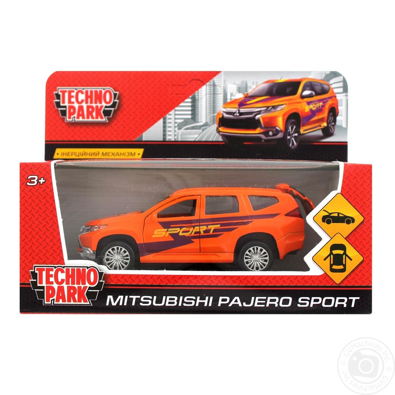 Details about  /MITSUBISHI PAJERO sport car  1:38   TECHNOPARK