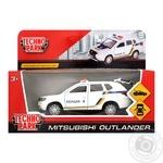 Іграшка Technopark Машинка Mitsubishi Outlander поліція 1:32