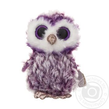 Іграшка м'яка TY Beanie Boo's Фіолетова сова Moonlight 36325 15см